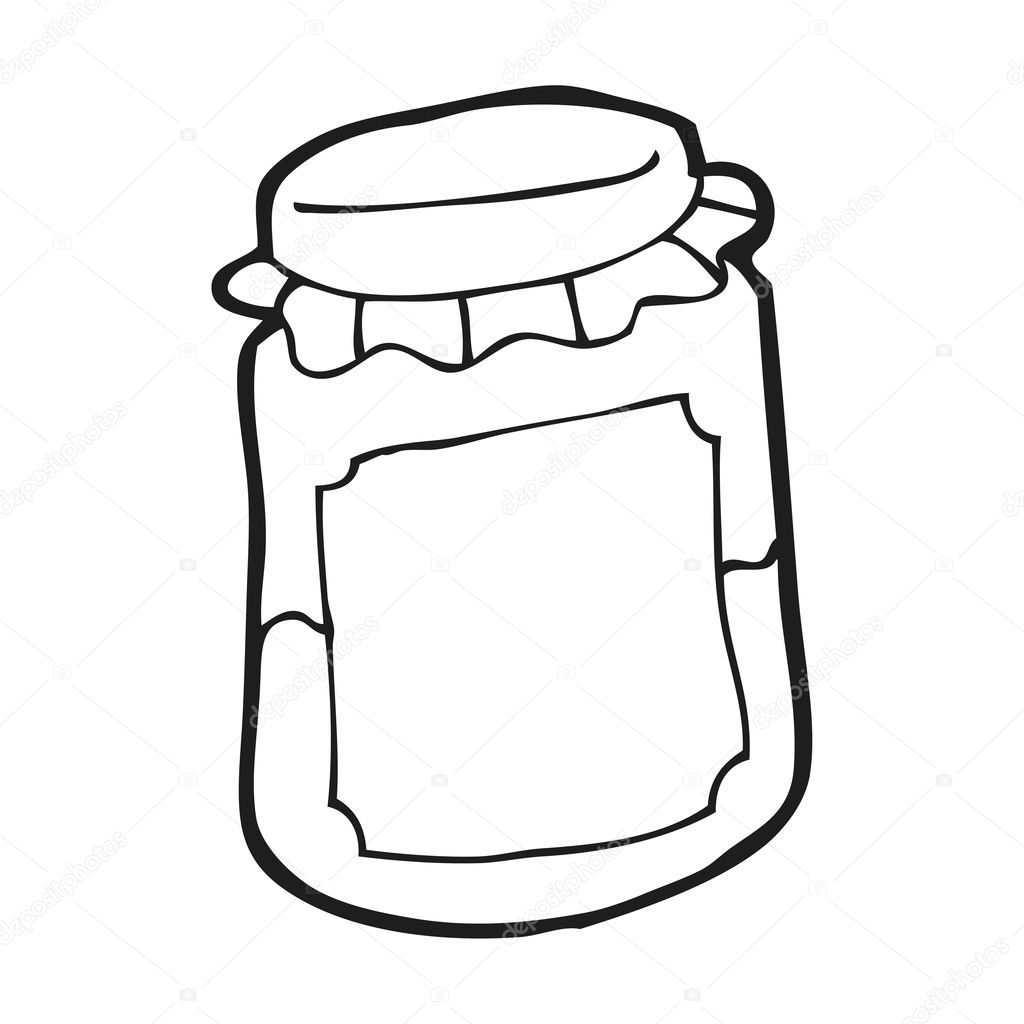 Mason Jar Coloring Page Coloring Pages