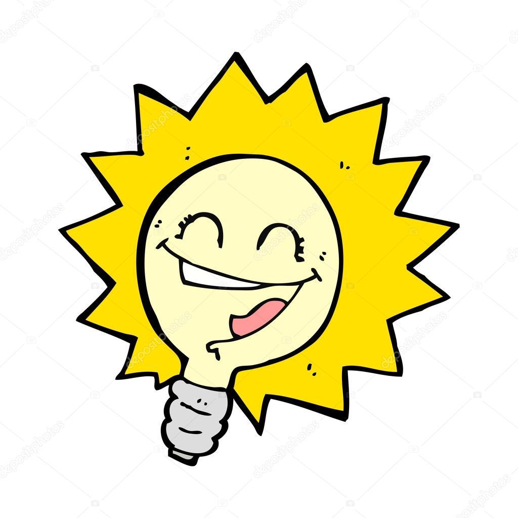 Cartoon Picture Light Bulb