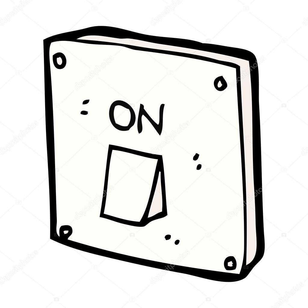 Interruptor De Luz De Desenho Animado