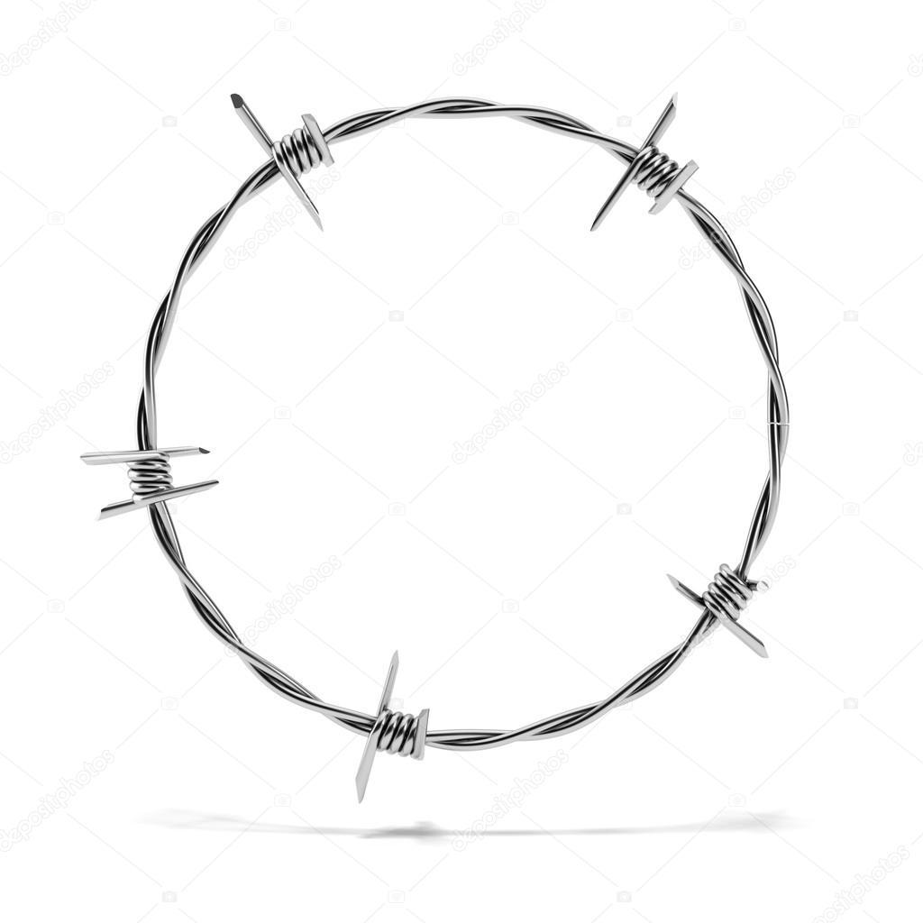 Circulo De Arame Farpado