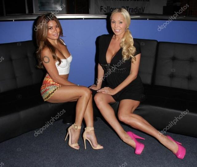 Charmane Star And Mary Carey On The Set Of Politically Naughty With Mary Carey Tradiov Studio Los Angeles Ca  Photo By S_bukley