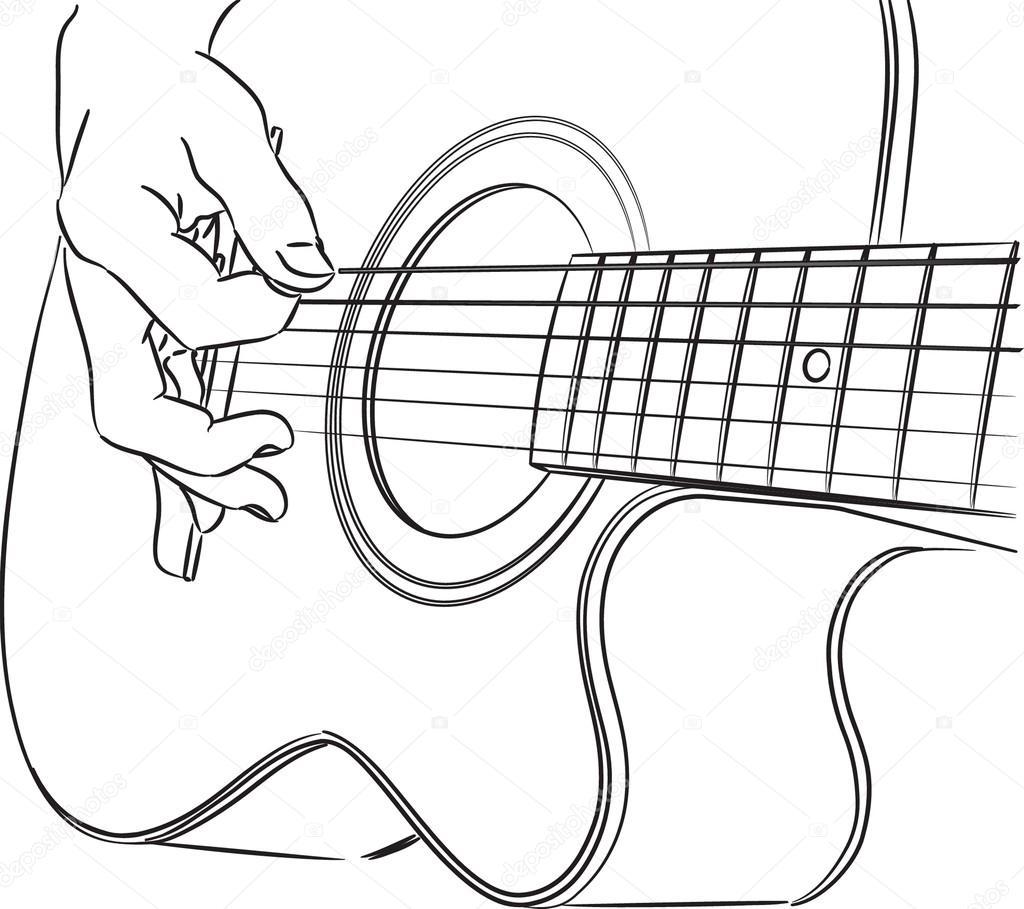 Tocar Guitarra Acustica