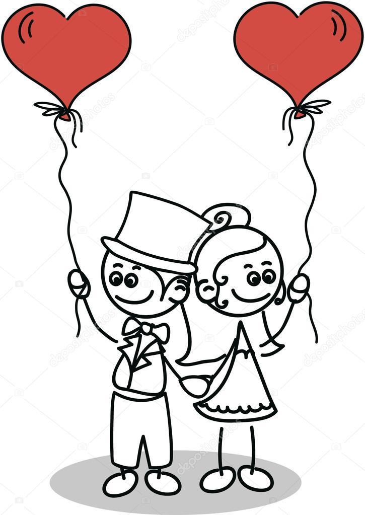 Hochzeit Just Married Hochzeitspaar Bild Auto Just Married Zum