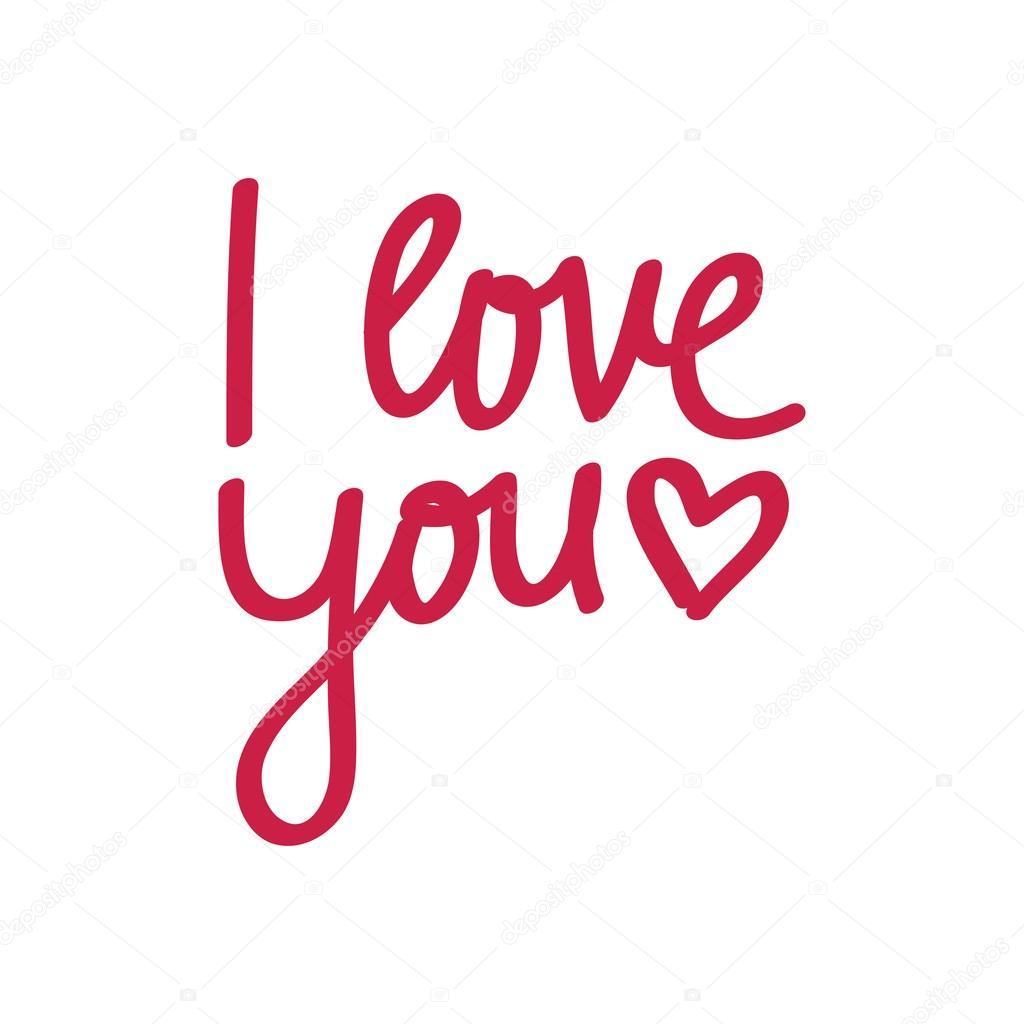 """Download Letras """"te amo"""" — Vector de stock #50932789 — Depositphotos"""