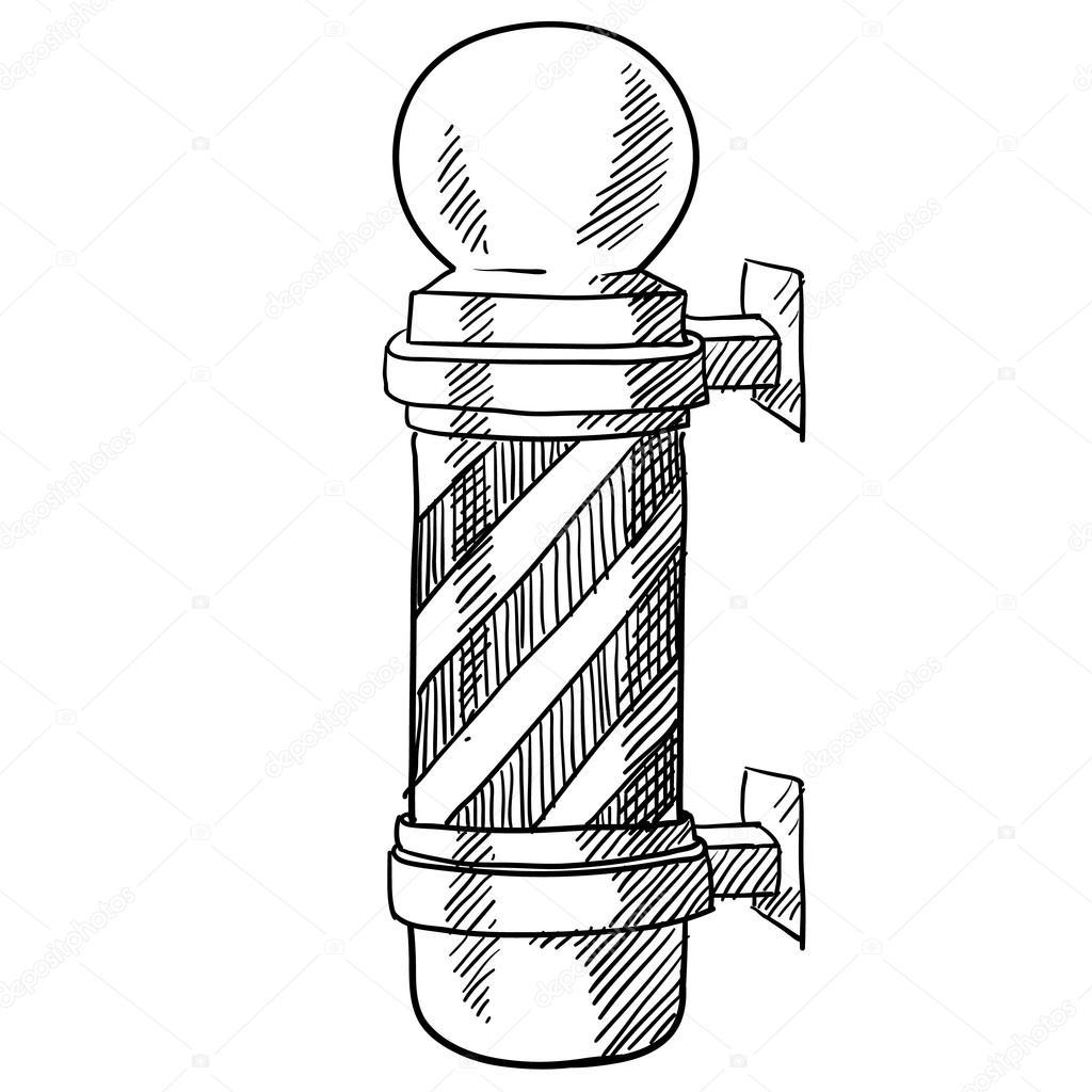 Barber S Pole Sketch