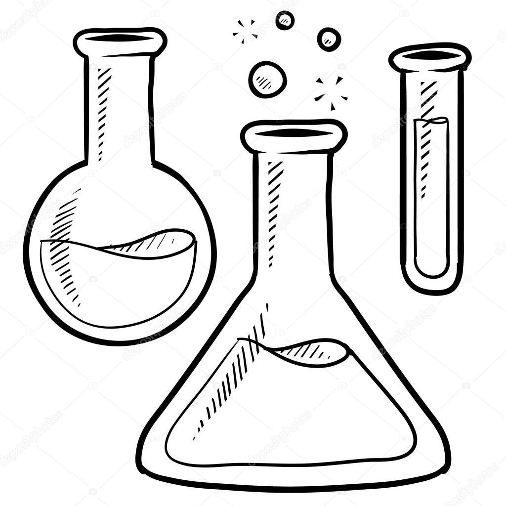 Images Test Tube Sketch