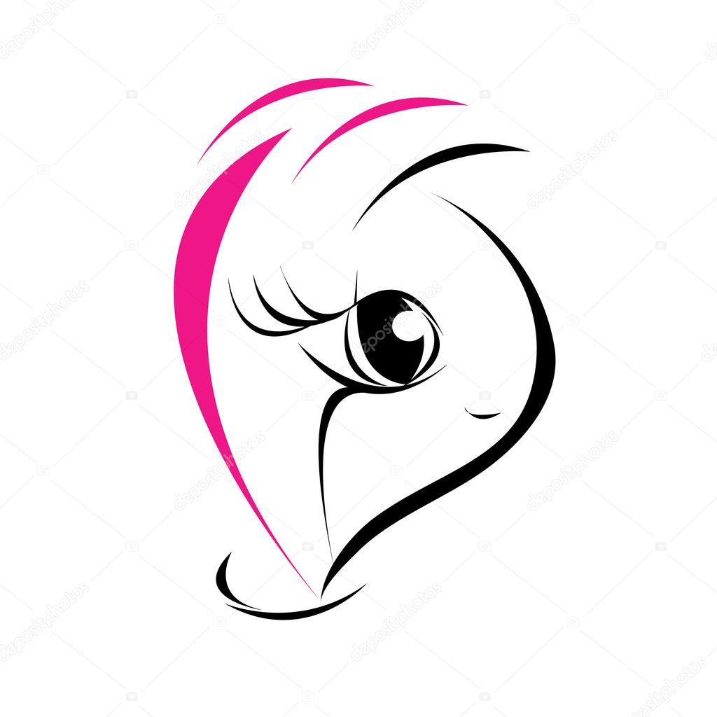 Logotipo De Belleza Y Moda