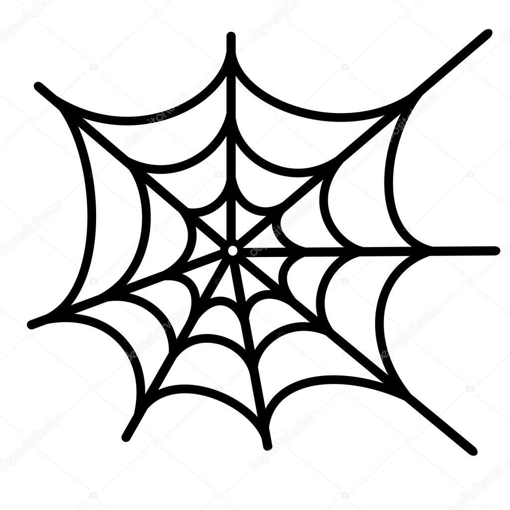 Spider Net Vector Background