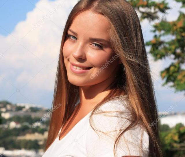 Thick Beautiful Teen Girl With Long Hair Photo By
