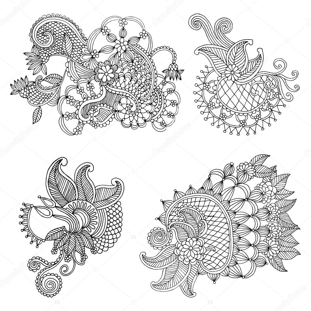 Neckline Embroidery Designs