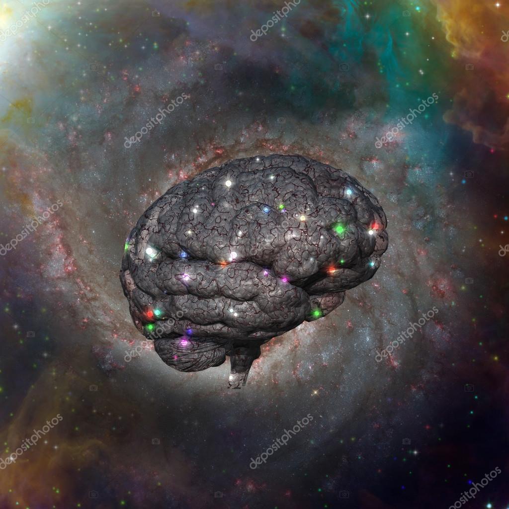 Resultado de imagem para imagens do cerebro cosmico