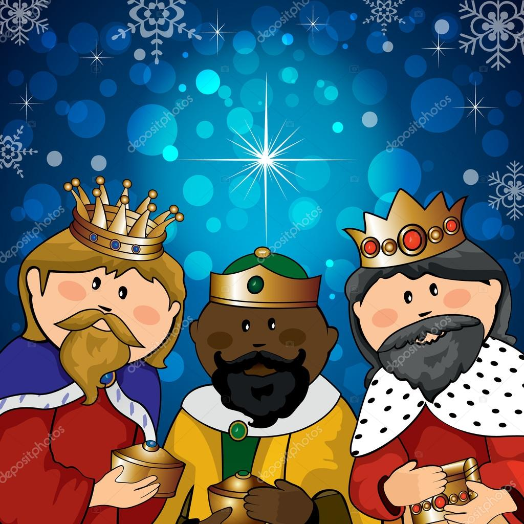 Three Kings Stock Vector Iostephy 37397593