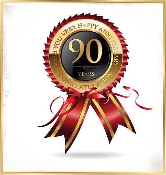 90 ans images vectorielles 90 ans