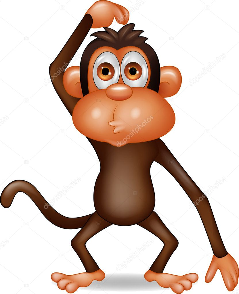 Áˆ Cartoon Monkey Stock Animated Royalty Free Monkey Cartoon Pictures Download On Depositphotos