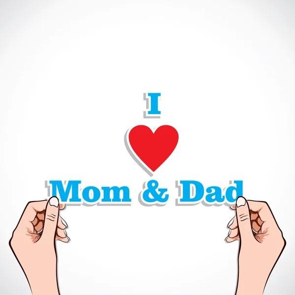 Download Cartoon family, word. — Stock Vector © Olaj775 #10063041