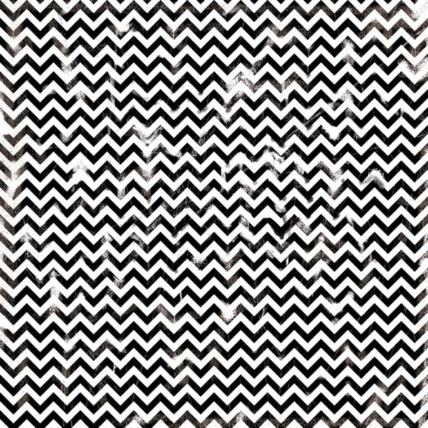 Chevron damaged seamless pattern by dadartdesign - Foto Stock