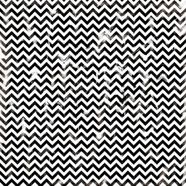 Chevron damaged seamless pattern by dadartdesign - Foto Stock