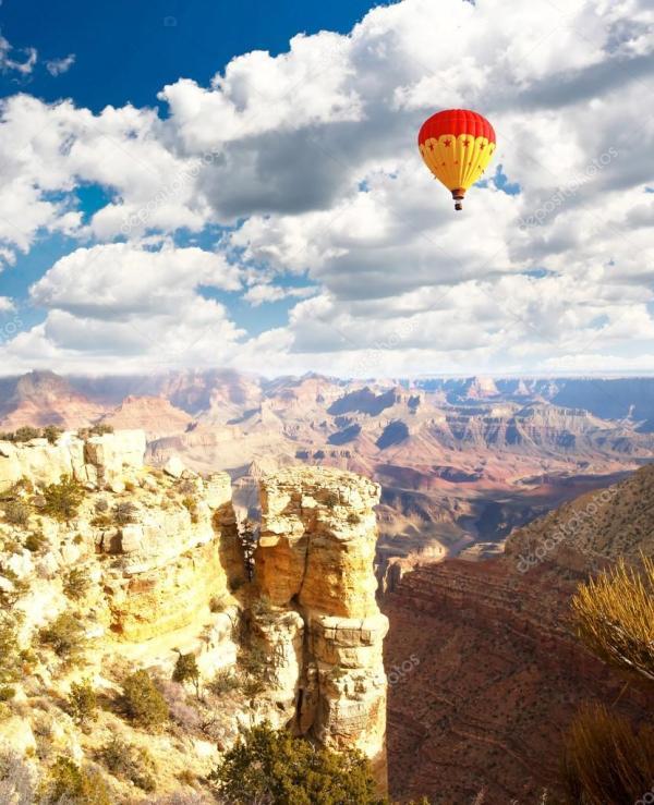hot air balloon grand canyon # 53