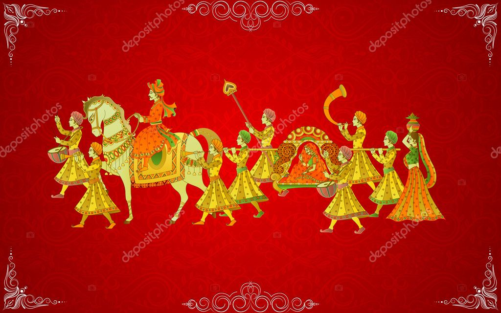 44 518 indian wedding card vector images royalty free indian wedding card vectors depositphotos
