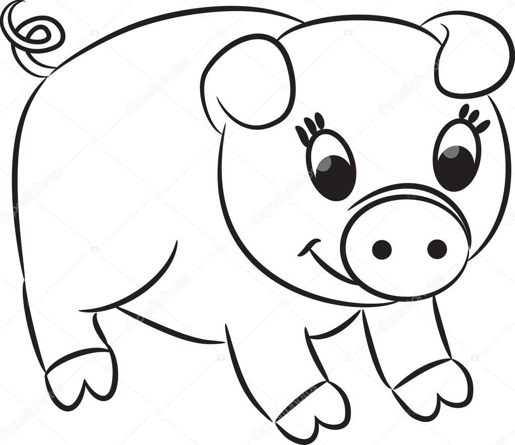 Cerdo De La Historieta