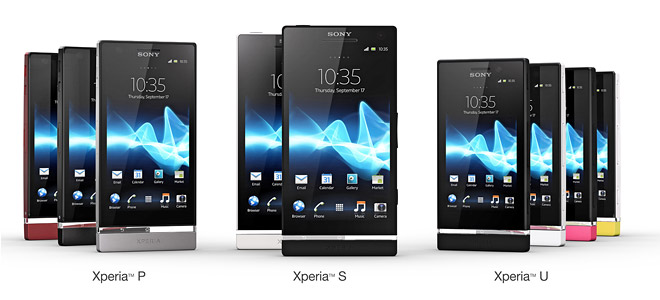 The new Sony NXT range