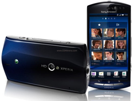 Sony Ericsson XPERIA Neo in UK on 19 April
