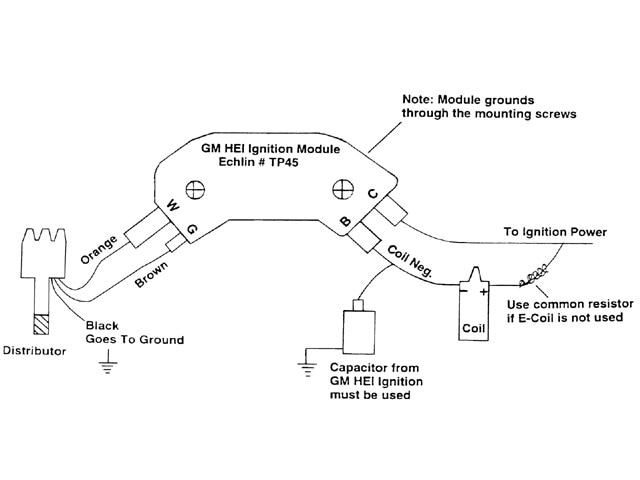 Collection Gm Hei Module Wiring Diagram Pictures - Wiring diagram ...