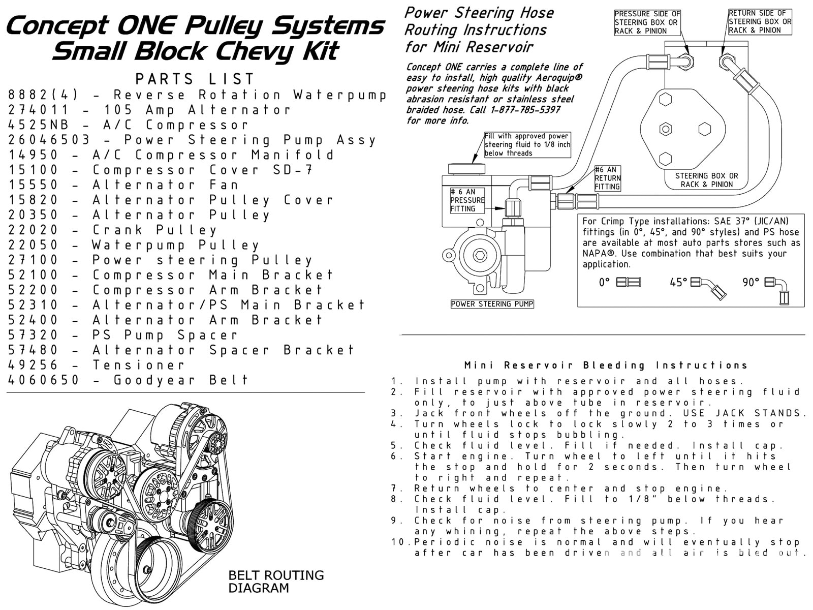 Concept One Pulley Kit