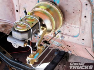 CPP FirewallMount Brake BoosterMaster  Hot Rod Network