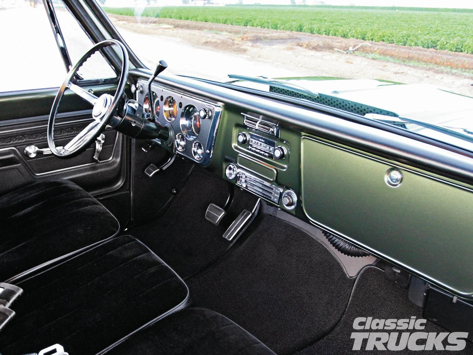 Dashboard Chevy 1972 Truck