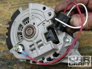 Alternator Upgrades  Highoutput Alternator Tricks On The Cheap  Hot Rod Network