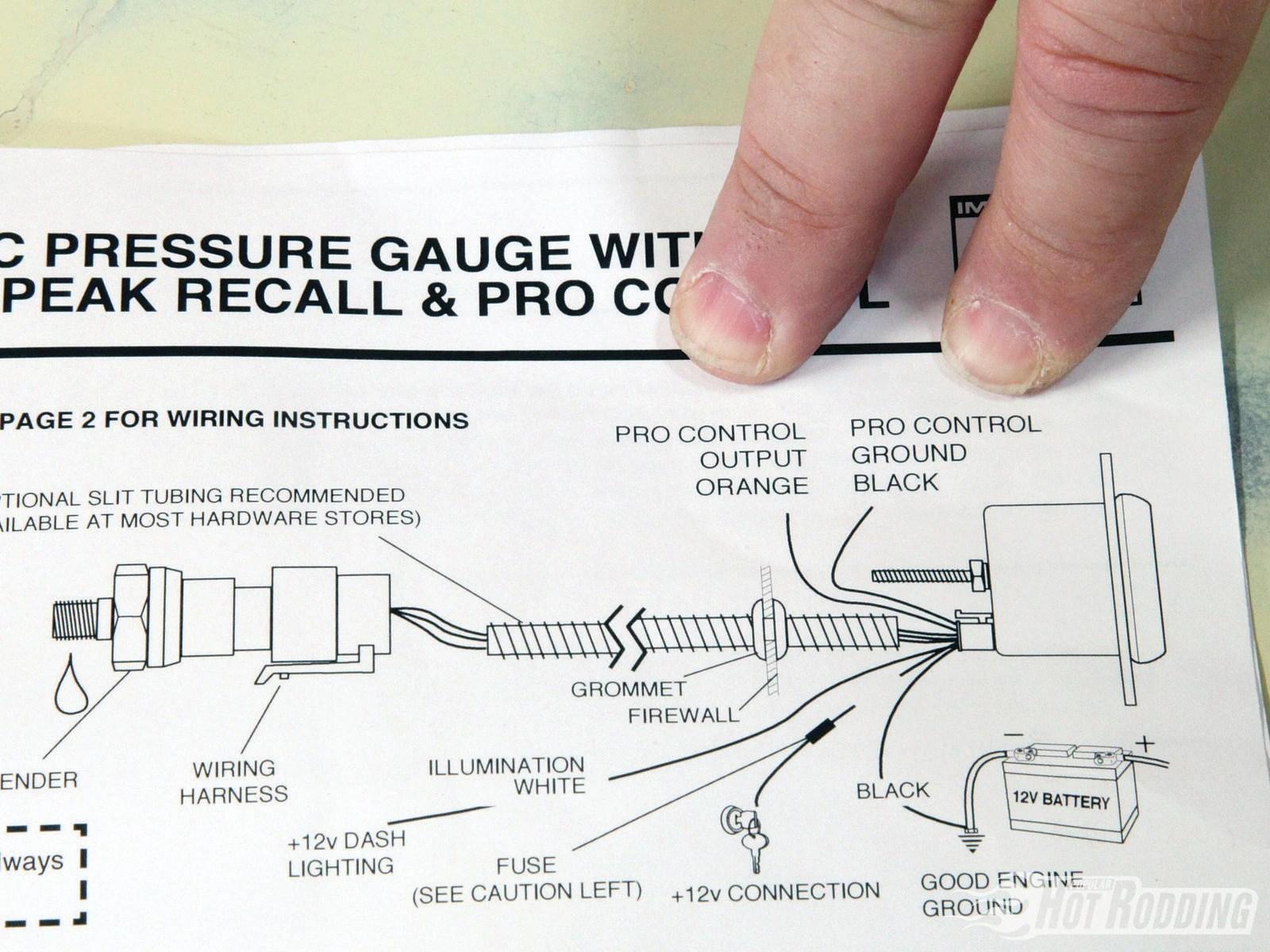 Auto Meter Monster Wiring Diagram Tachometer