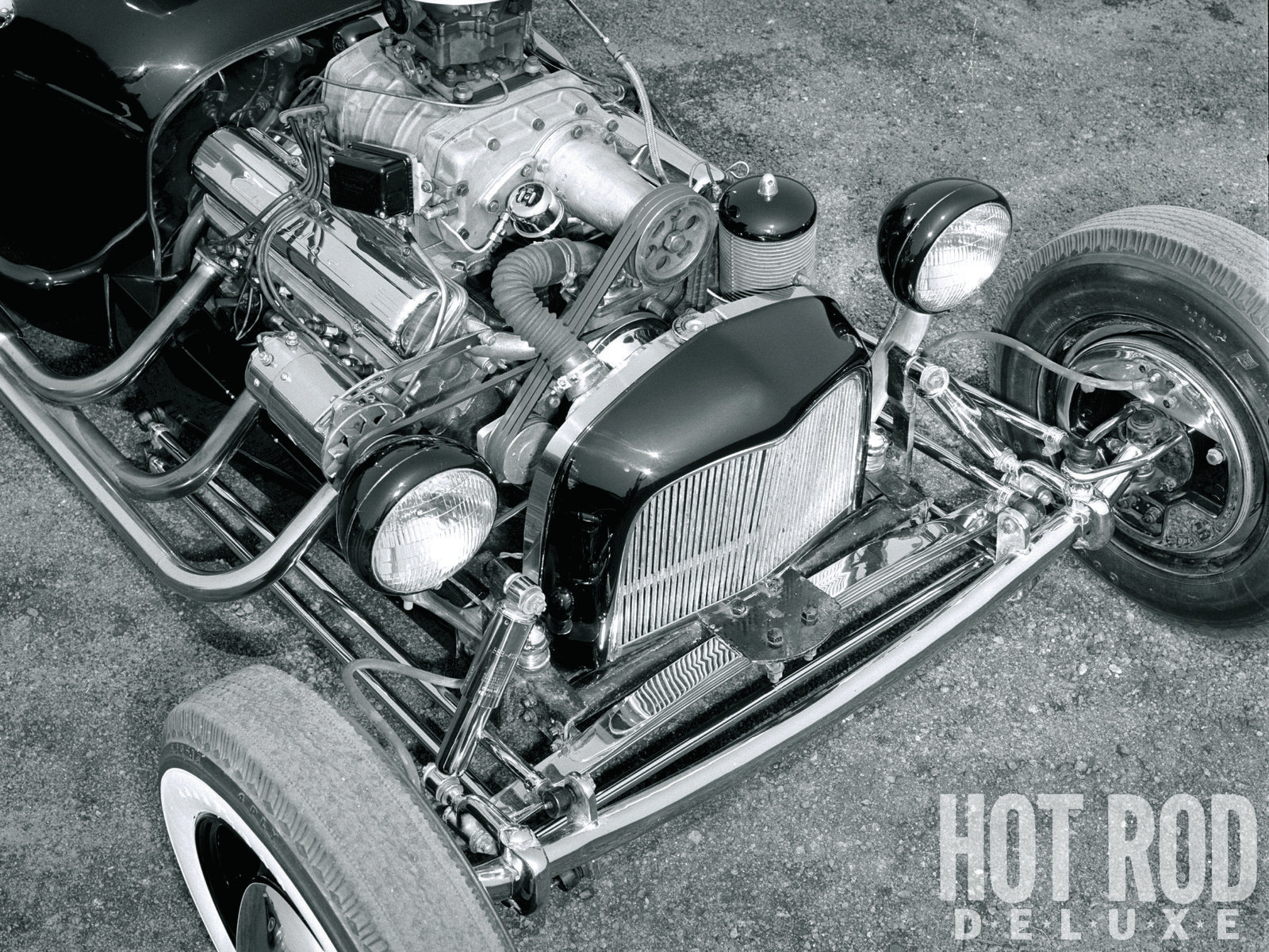 Norm Grabowski Giving Birth To The T Bucket Hot Rod