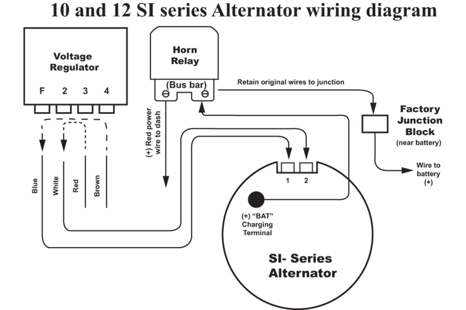 Wrg Gm Alternator 12 Volt Conversion Wiring Diagram