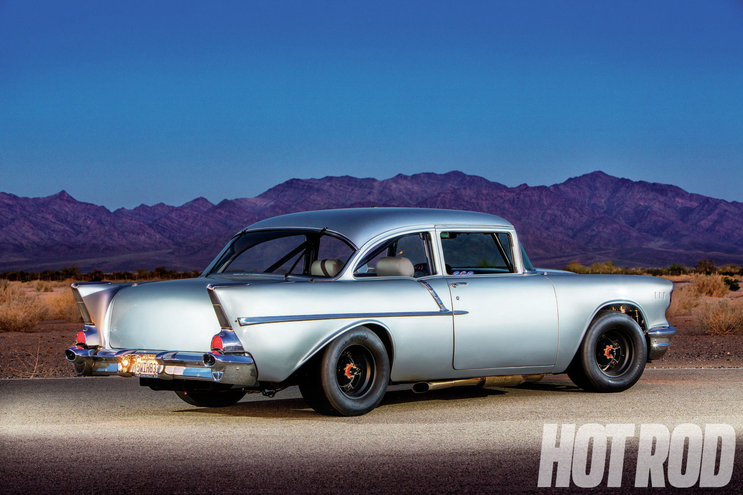 57 Chevy  Quick Silver   Hot Rod Network You don t see  57 Chevys shredding turns at road courses  which is