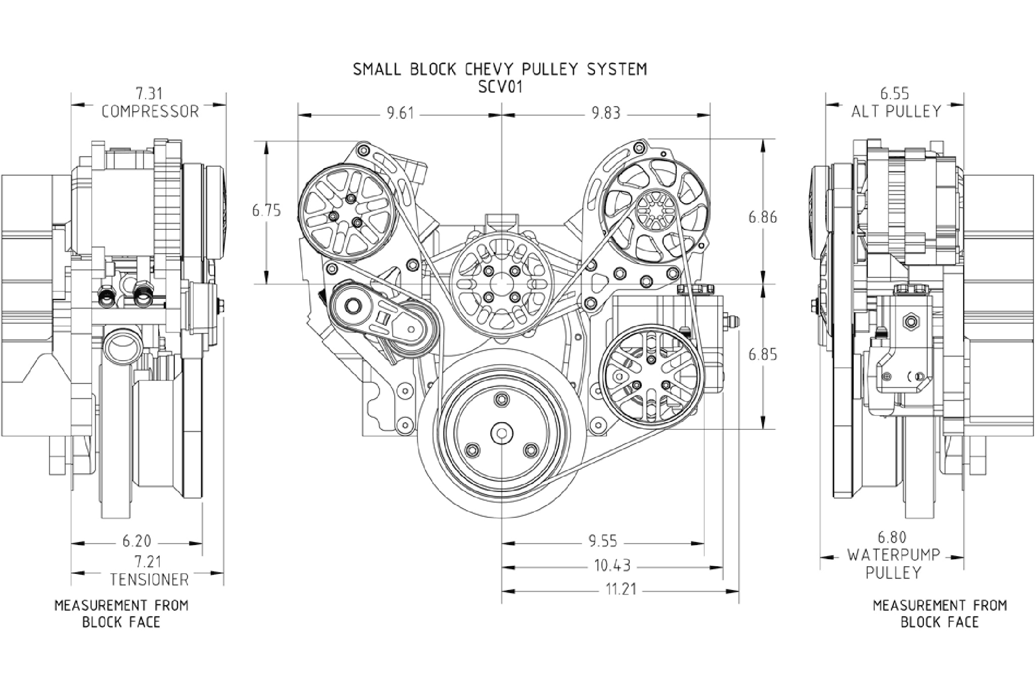 Modernizing A Small Block Chevy With A Concept One Pulley System