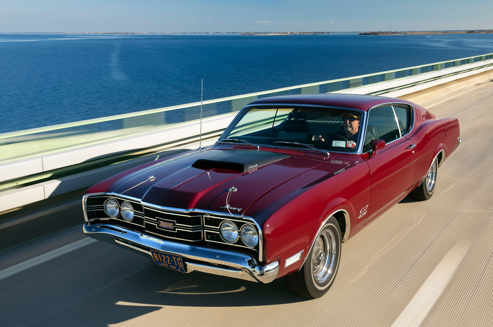 Rare 1969 Mercury Cyclone CJ Has Traveled From One End of the     001 Chernow 1969 Mercury Cyclone Cj Front Three Quarter