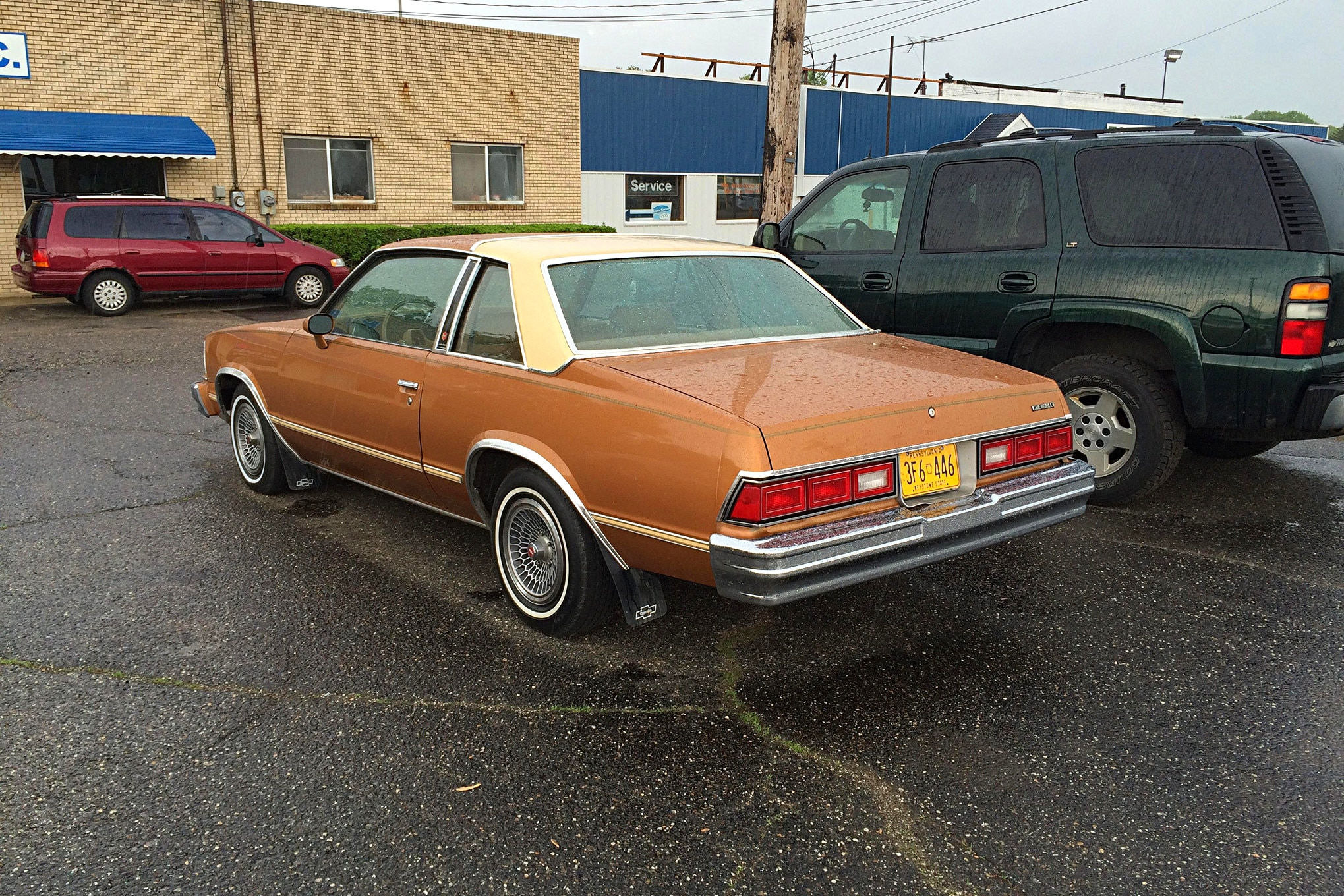 We were digging the Landau top and dealer-installed mudflaps. The car only had 68,000 miles and was looked to be rust-free, a virtually impossible feat to pull off in northeast Ohio.