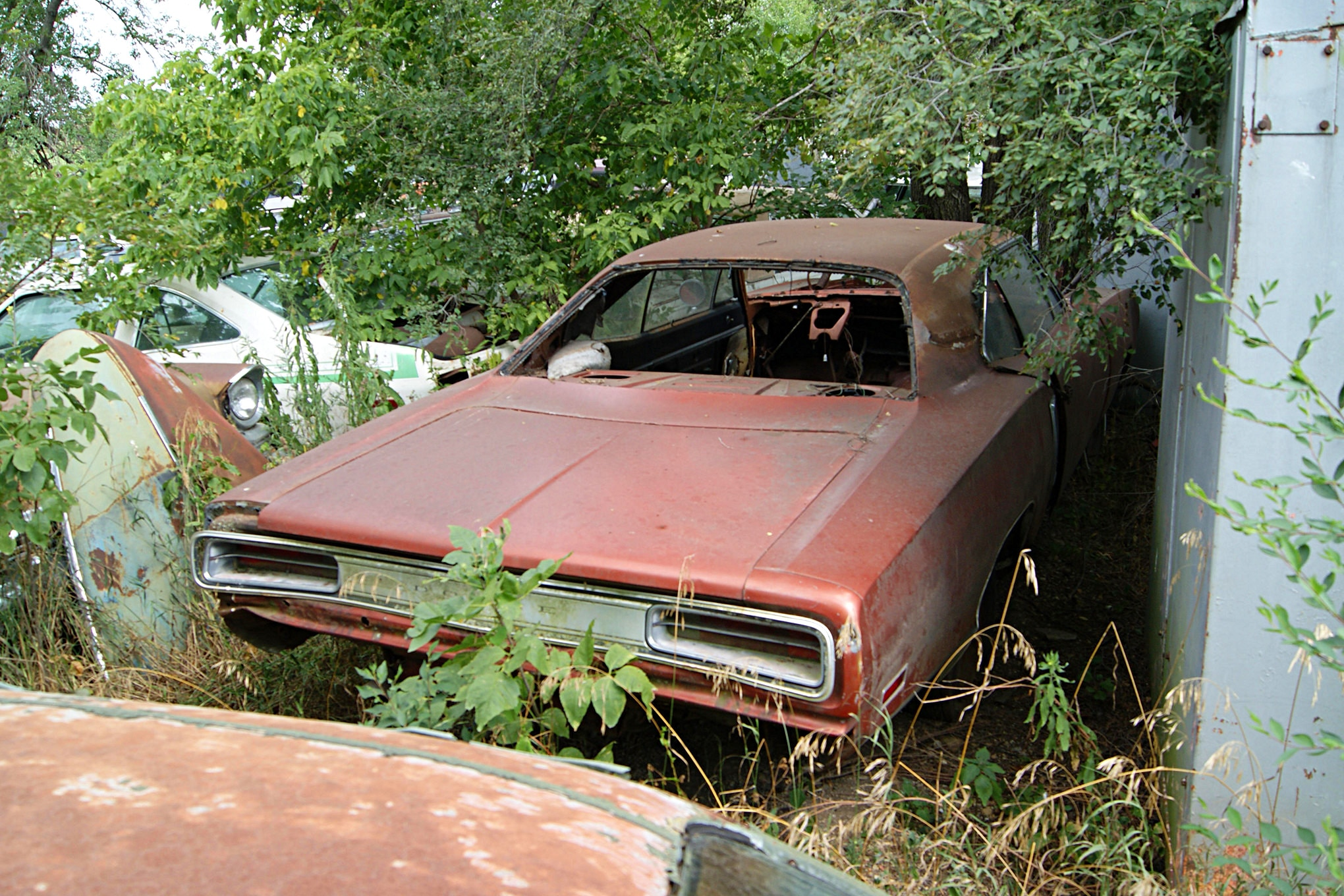 Barn Find Cars And...Train Stations?