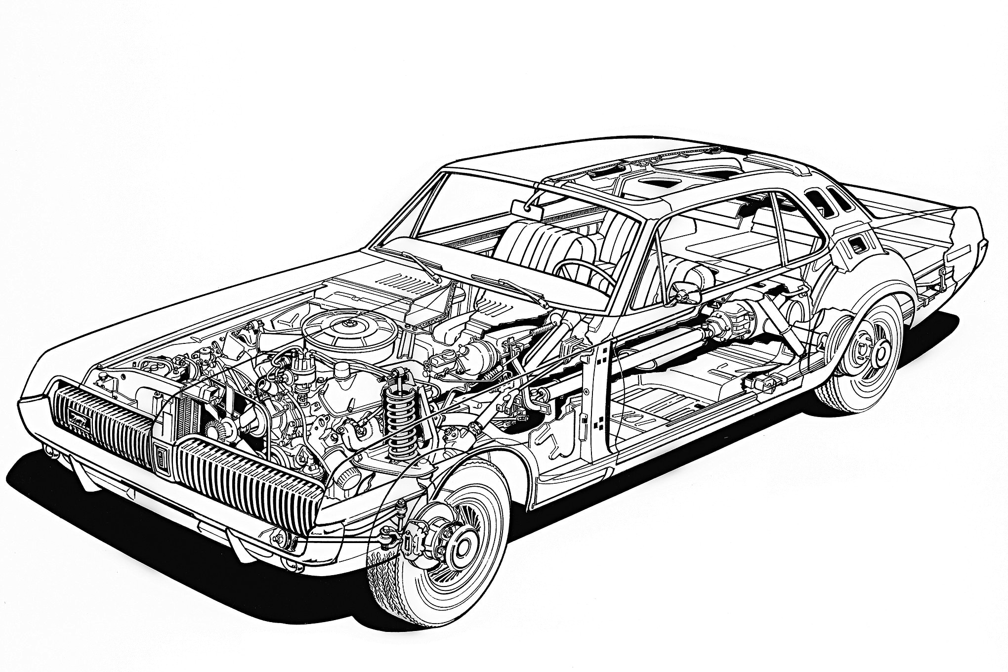Rare Factory Photos And Juicy Trivia About The Mercury Cougar On Its 50th Anniversary