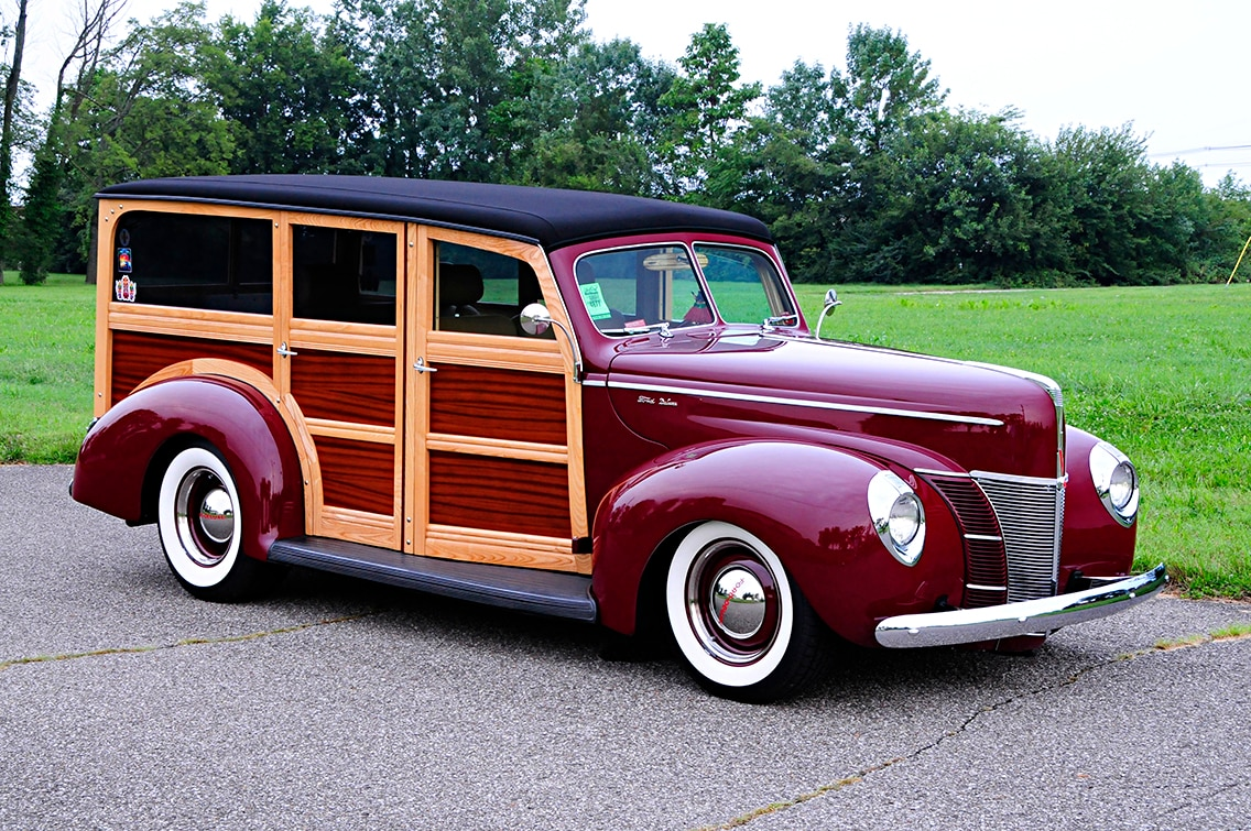 1940 Ford Woody is Best Ford in a Ford With 4 6L – Tamrazs Parts