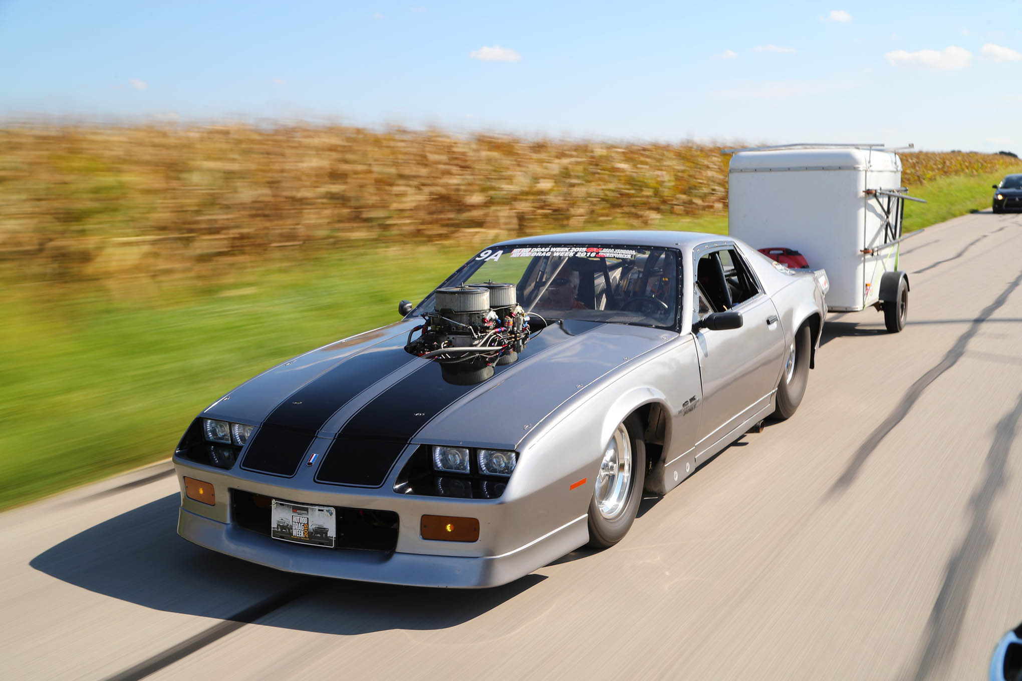 Live the Drag Week Dream With Mike Wenzler\'s Nitrous Camaro up For ...