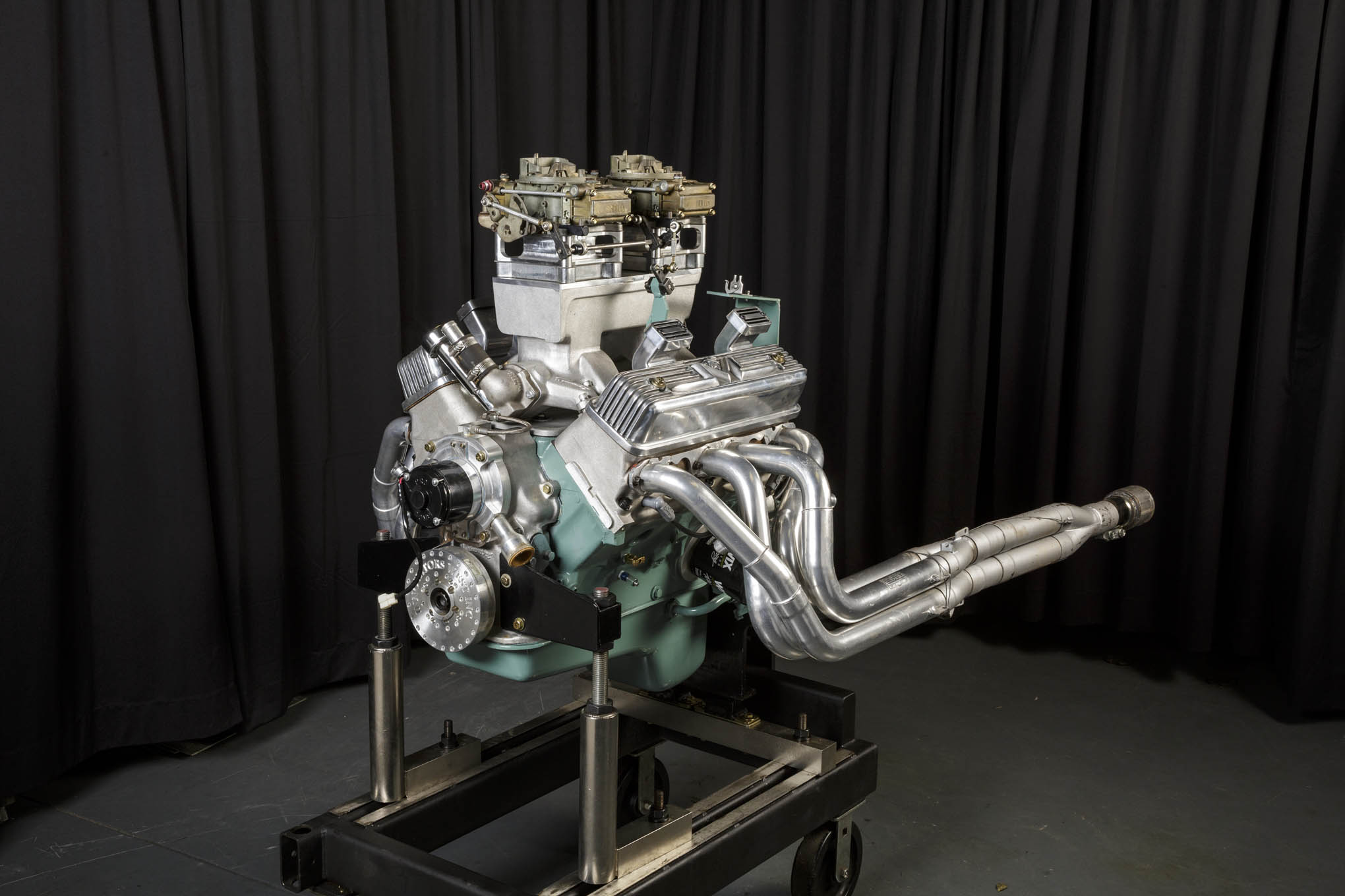 Introduced in 1954, the Ford Y-block was rated at a measly 130 horsepower. Ted Eaton's Mercury Y-block cranked out 603.2 horsepower, nearly 4.5-times the original output!