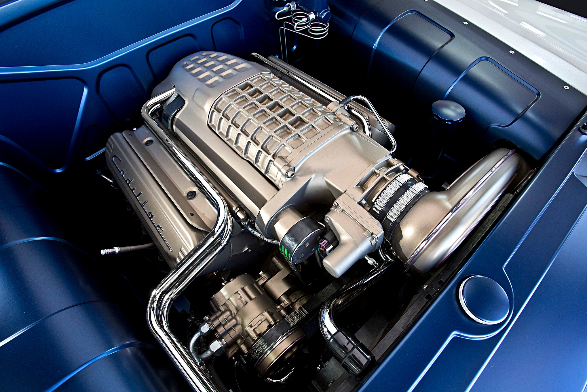 1949-cadillac-convertible-supercharged-lsx-engine-bay