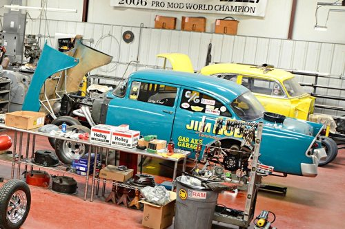 Quain Stott's Garage is Packed with Period Correct Gassers - Swap