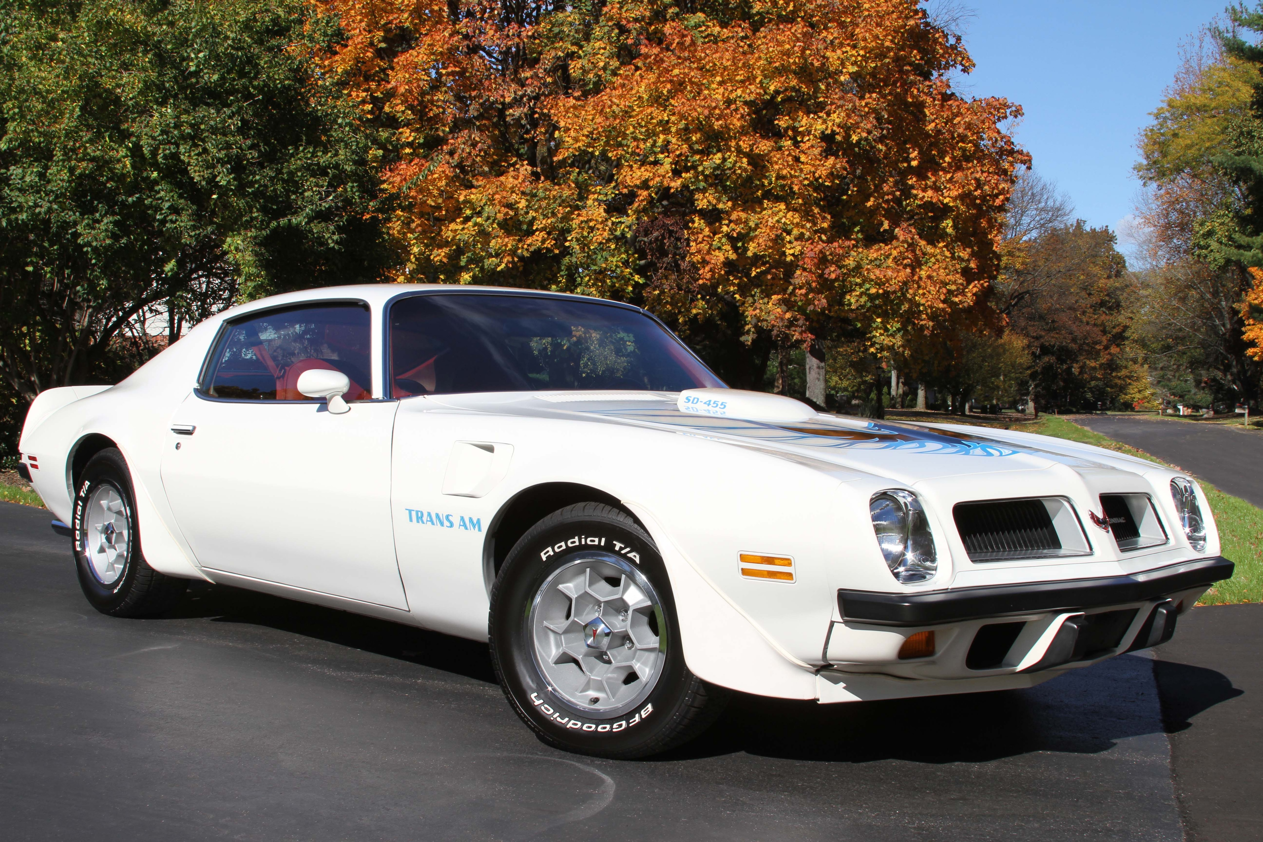 Pontiac Trans Am SD 455 Did Pontiac Save Its Best Muscle