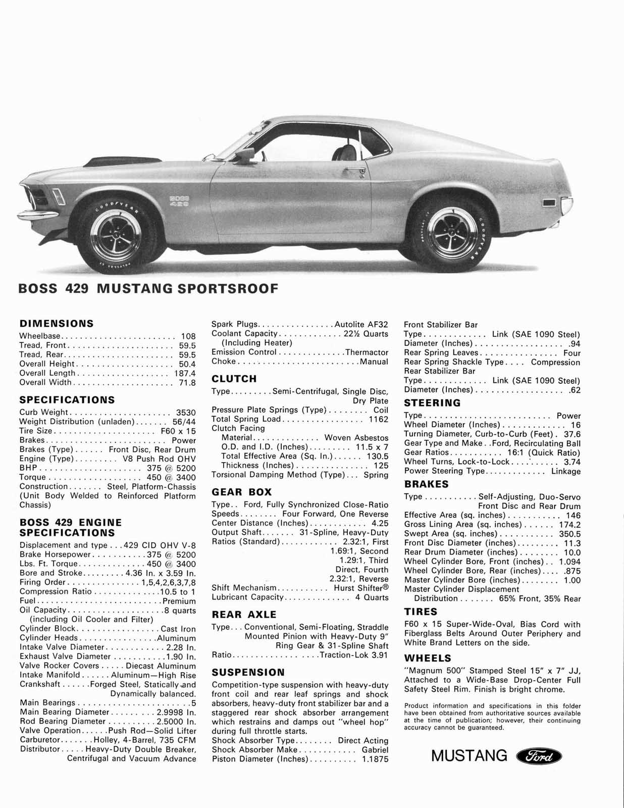 This Road Trippin Ford Mustang Boss 429 Drove From