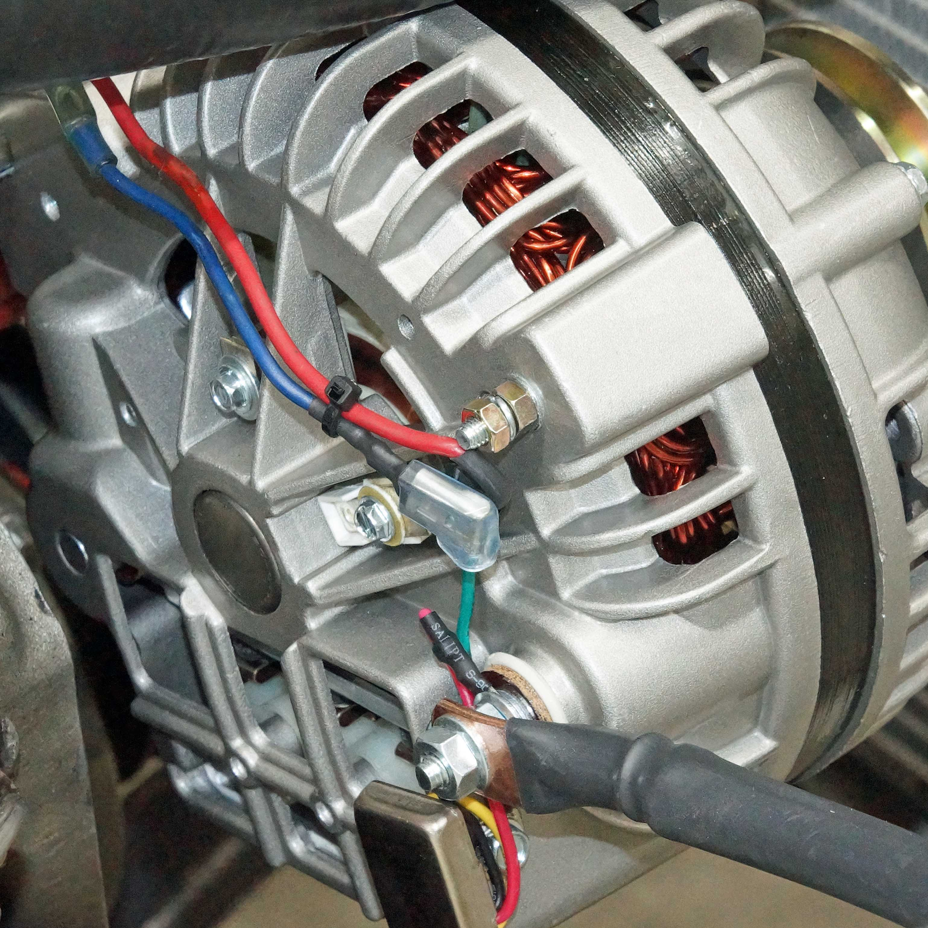 Charging System Upgrade With A Tuff Stuff Alternator