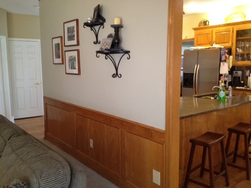 paint colors that go with wood trim and cabinets my. Black Bedroom Furniture Sets. Home Design Ideas