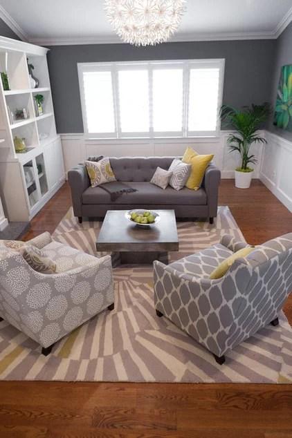 contemporary living room by Found Design